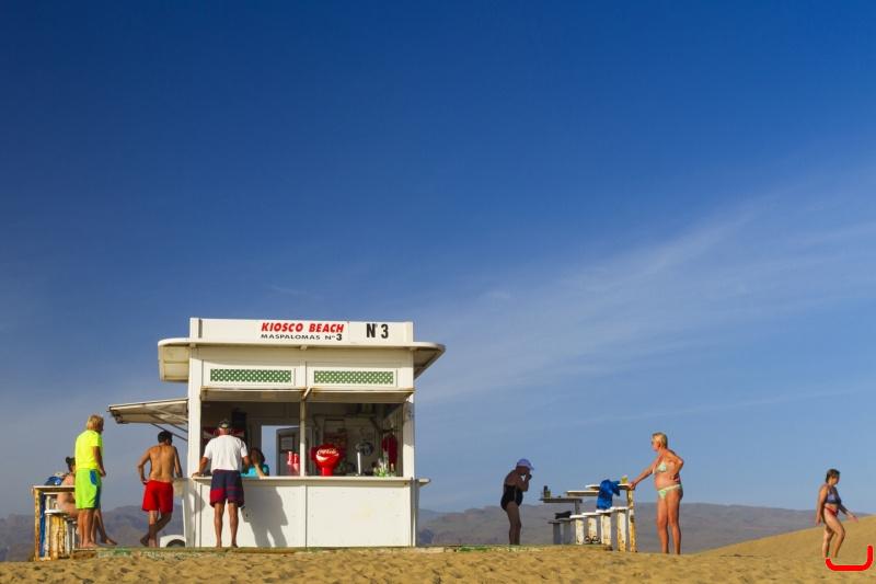 Kiosk 4 playa del ingles