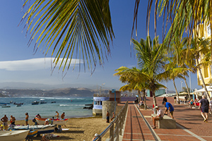Northern end of Las Canteras beach