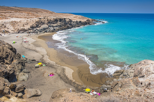Pasito Bea beach in south Gran Canaria