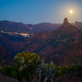 The moon over Gran Canaria_31