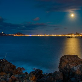 The moon over Gran Canaria_8