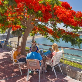 Arguineguin Town & Coast: Las Marañuelas beachfront