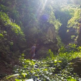 Hiking in the Barranco de los Cernicalos