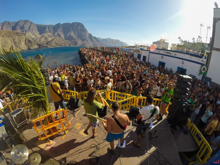 Bioagaete: One of Gran Canaria's free seaside music festivals