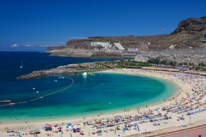 Hot week coming up in Gran Canaria