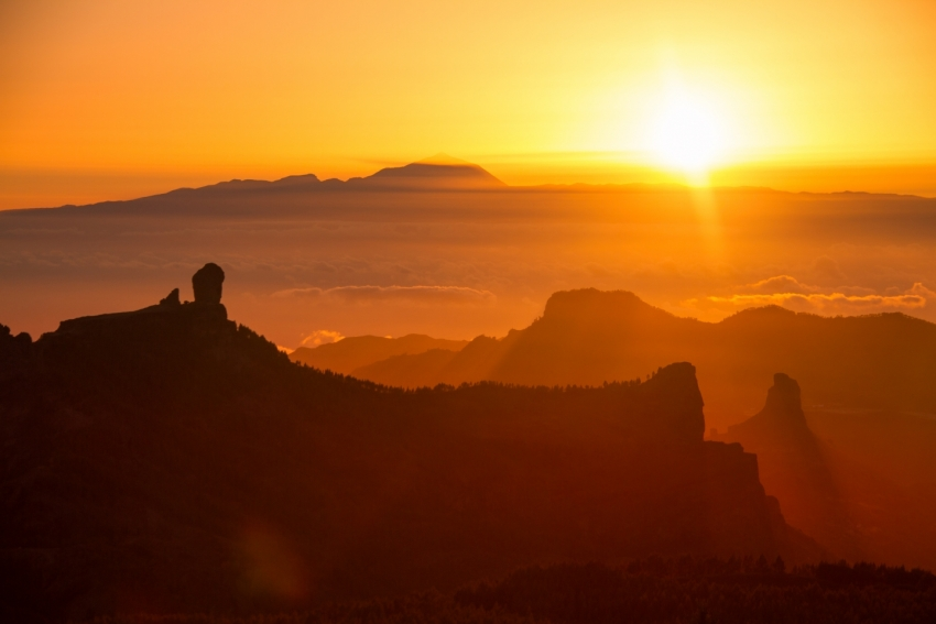 Gran Canaria's volcanic past means that it has geothermal power potential