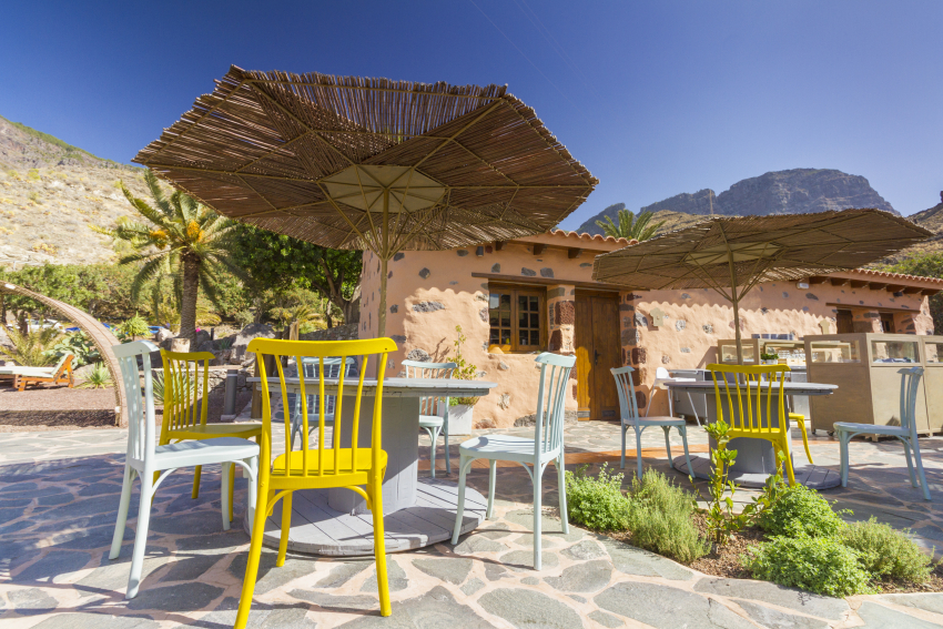 The excellent Los Almagicos restaurant in Guayedra in north west Gran Canaria
