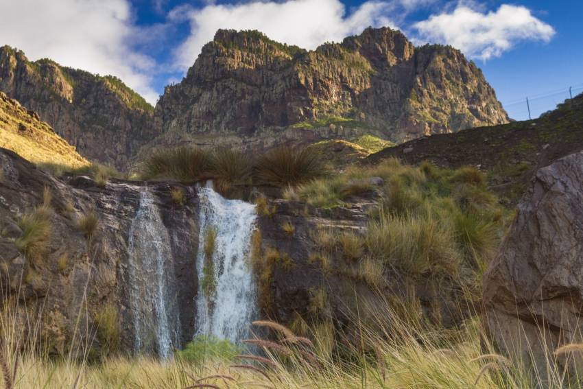 Gran Canaria has superb waterfalls just after rain