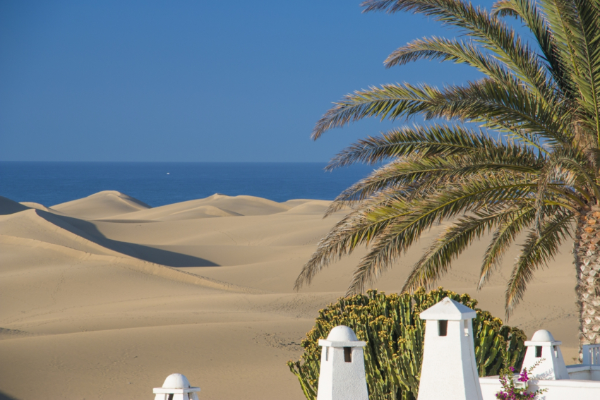 After a weekend of rain showers the weather improves this week in Gran Canaria