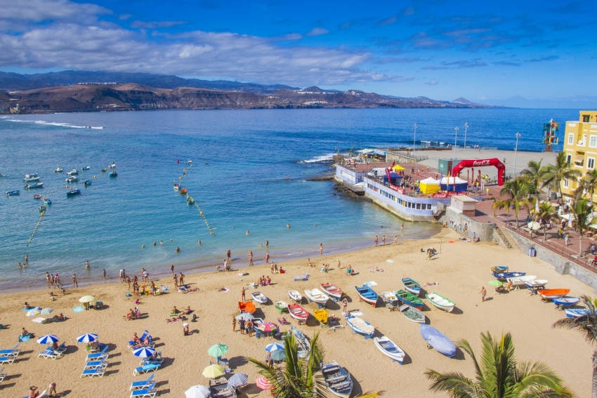 Mostly sunny this weekend in Gran Canaria