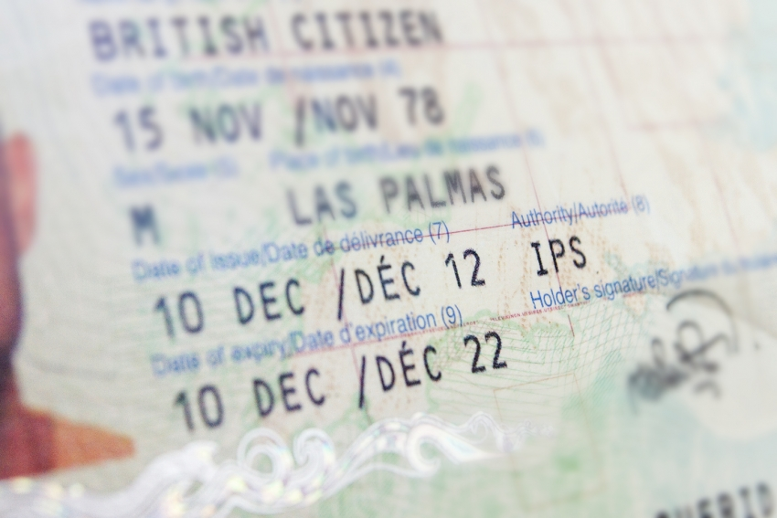 It's a myth that your passport has to be valid for three months after you return from Gran Canaria