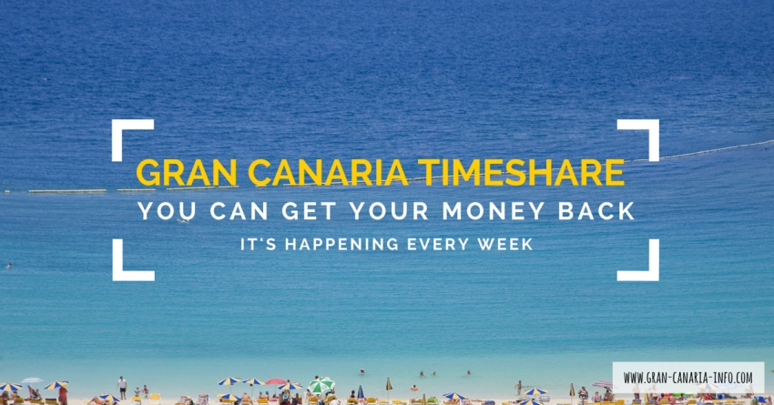 Tip Of The Day: You Can Get Your Gran Canaria Timeshare Money Back