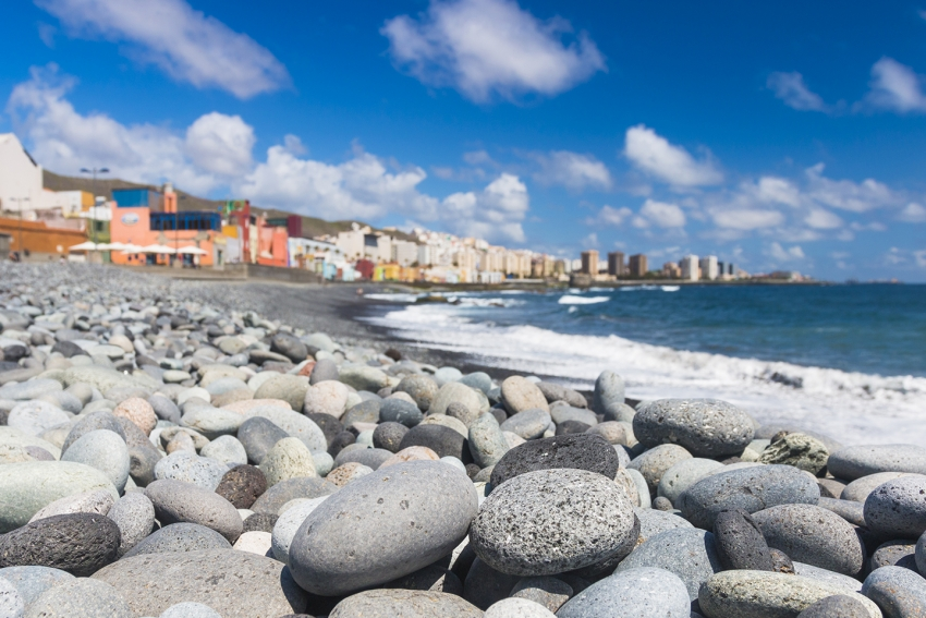 San Cristobal fishing village in Gran Canaria