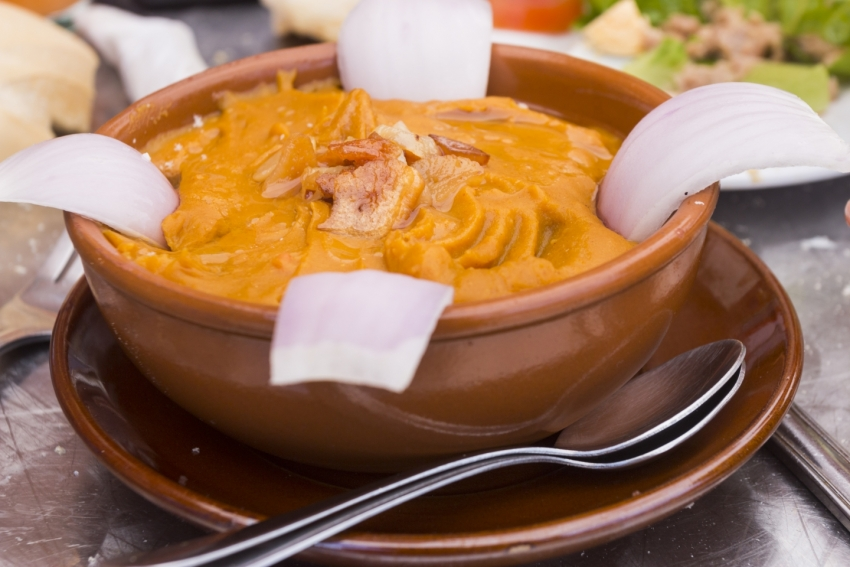 Gofio or roasted barley flour dishes are popular in the Canary Islands
