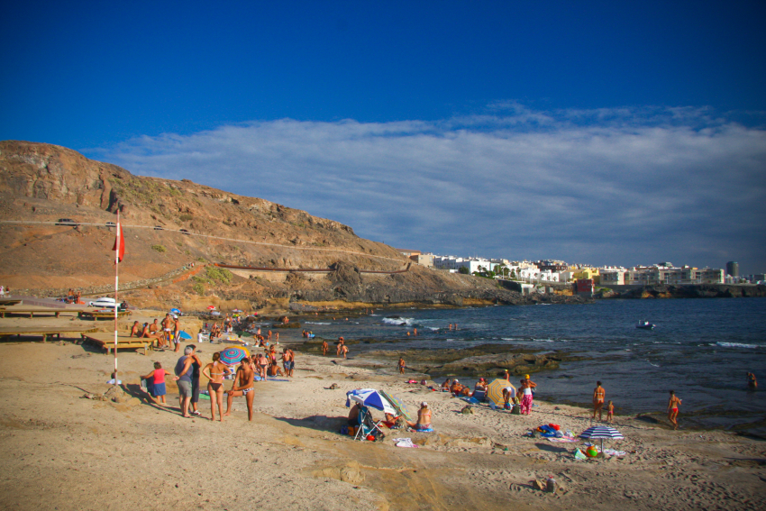 Gran Canaria Has Its Own Popcorn Beach