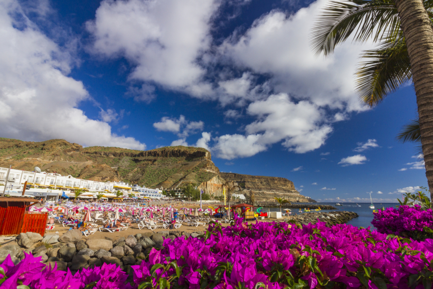 Sunshine with some cloud forecast this week in south Gran Canaria