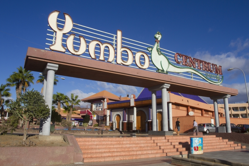 The Yumbo Centre in Playa del Inglés