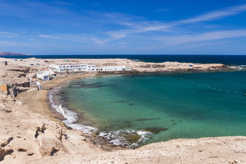 El Cabron beach in East Gran Canaria
