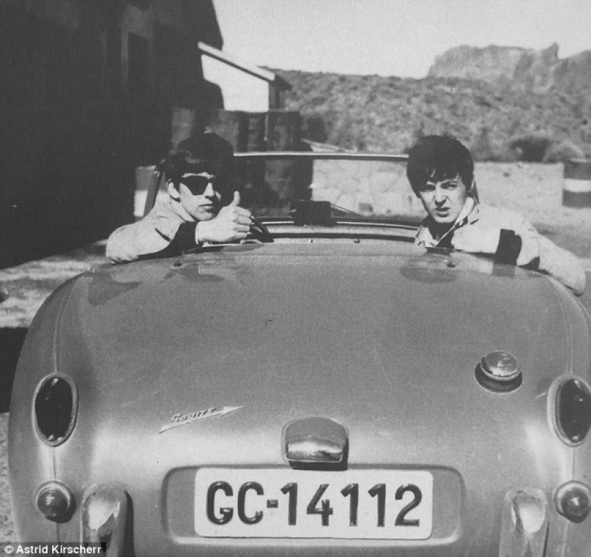 The Beatles drove around Tenerife in a Gran Canaria registered car, but did they visit the island itself?