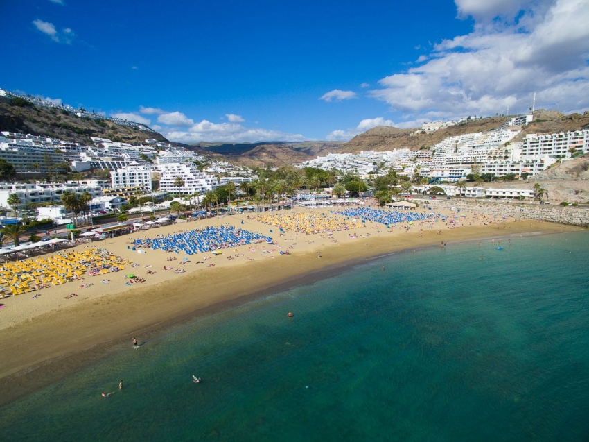 Sunny weather in south Gran Canaria this week