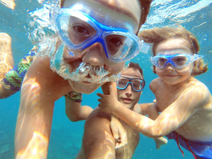 Snorkelling at Taurito with Canary Diving is a great family experience