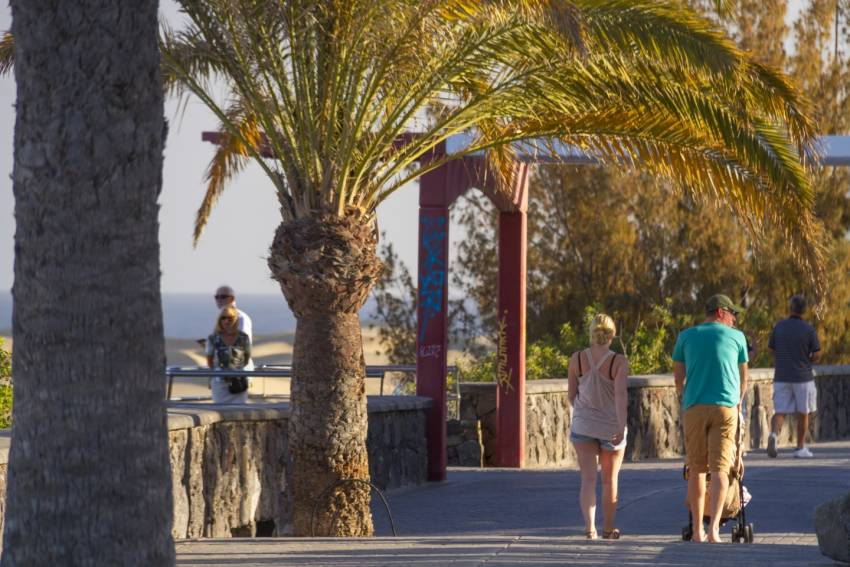 Easy resort walks in Gran Canaria