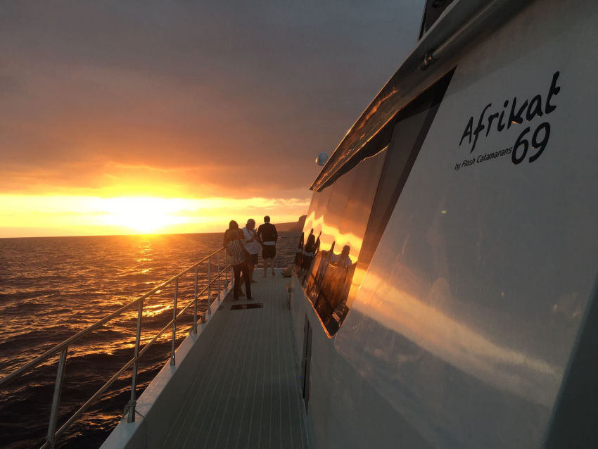 The Afrikat sunset cruise is a top Gran Canaria excursion