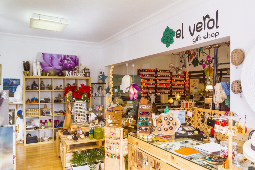 El Verol in Arguineguín sells original gifts and home decorations