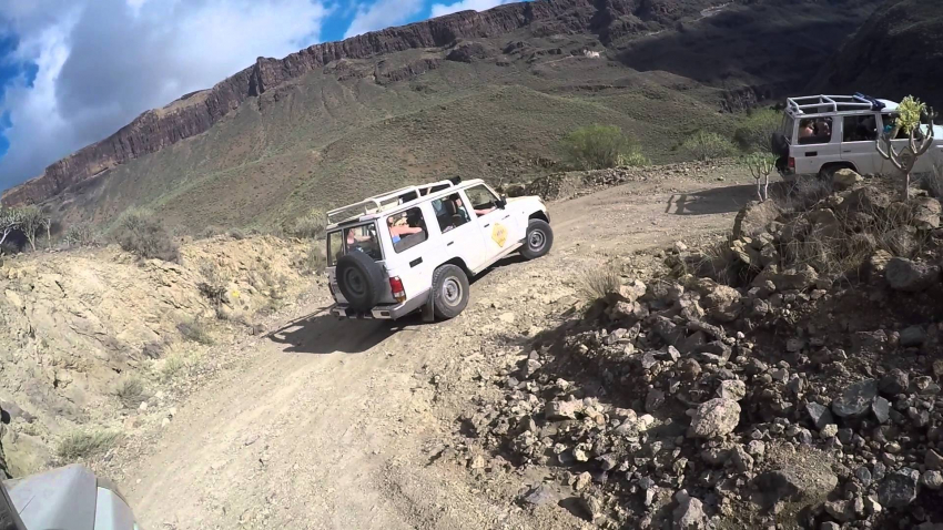 The ultimate Gran Canaria jeep safari