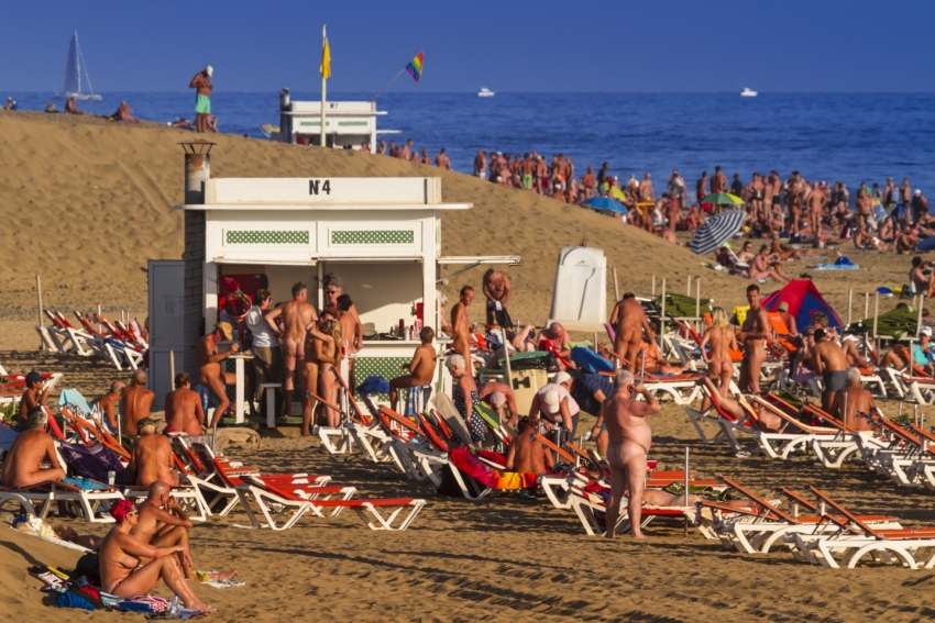 The rules of nudism in Gran Canaria