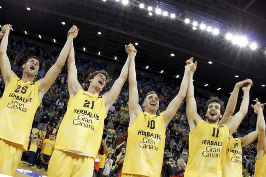 Gran Canaria basketball team make European final